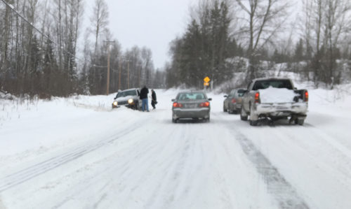 Freezing rain warning issued for Prince George