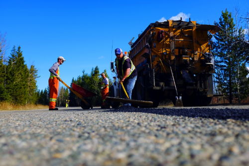 Eight paving projects underway this week