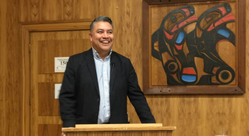Busy first month for Teegee as BCAFN regional chief