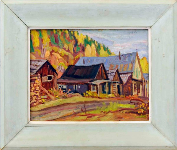 "A. Y. Jackson's ""Barkerville, B.C."" – photo by Heffel Fine Art Auction House"