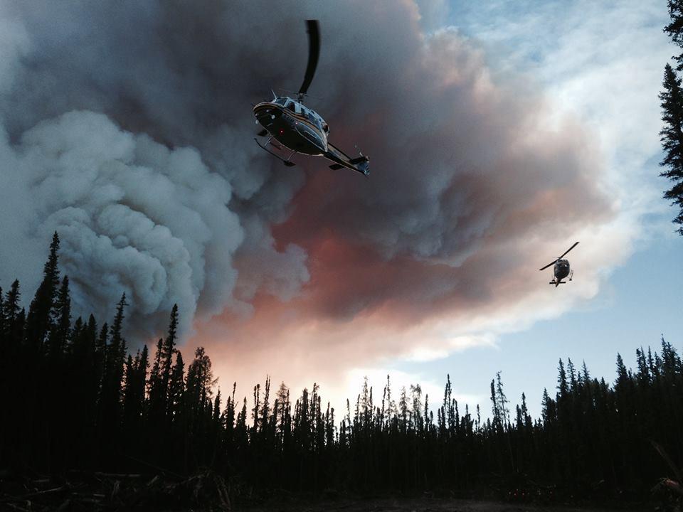 BC Wildfire Service photo