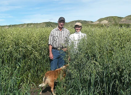Ken and Arlene Boon. Peace Valley Landowners Association photo