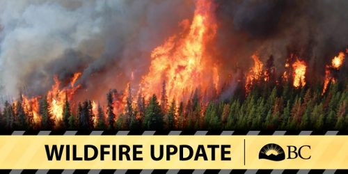 Wildfire at Breadalbane Creek near Fort St. James