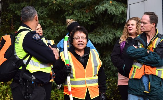 Chief Charlene Belleau of the Esketemc First Nation. Bill Phillips photo
