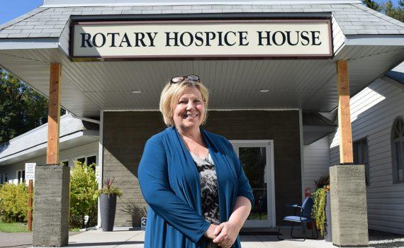 Prince George Hospice executive director Donna Flood. Bill Phillips photo