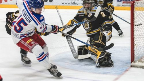 Grizzlies take a bite out of Spruce Kings streak