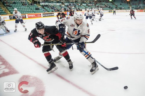 Blazers score late to eke out win over Cougars