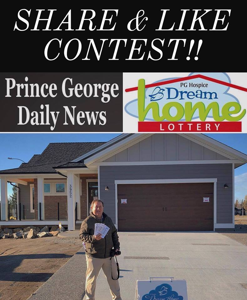 Win A Ticket On The Hospice Dream Home Prince George