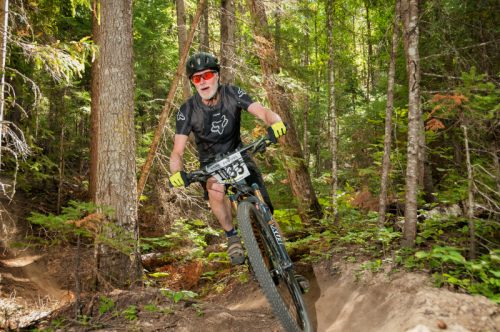 Mountain bike race at Otway Nordic Centre. Photo courtesy of Throwdown Adventure Festival.
