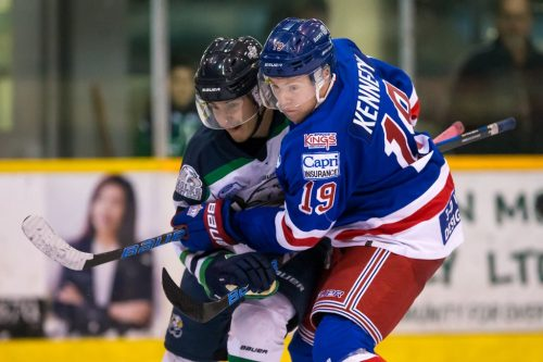 Spruce Kings edged out by Eagles 4-3