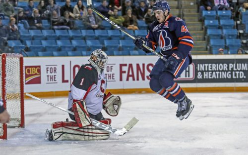 Cougars down Blazers in Kamloops