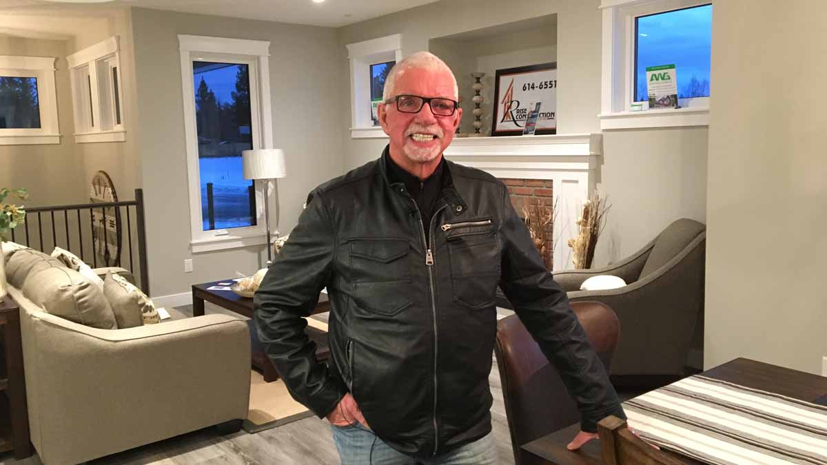 Brink Group of Companies owner John Brink is urging everyone to get out and by a ticket on the Hospice House Dream Home lottery. The draw for a $570,000 home in the Nechako View subdivision goes Friday. Bill Phillips photo