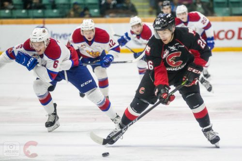Cougars hammer the Oil Kings