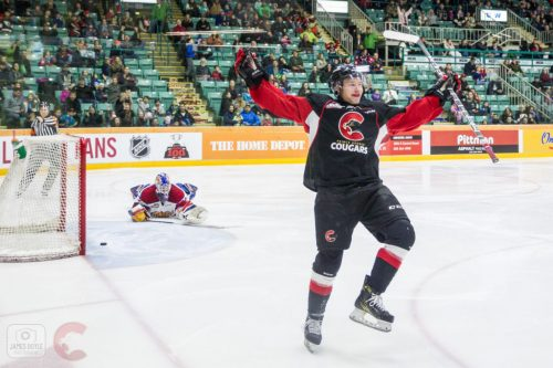 Cougars sweep the Oil Kings in weekend series