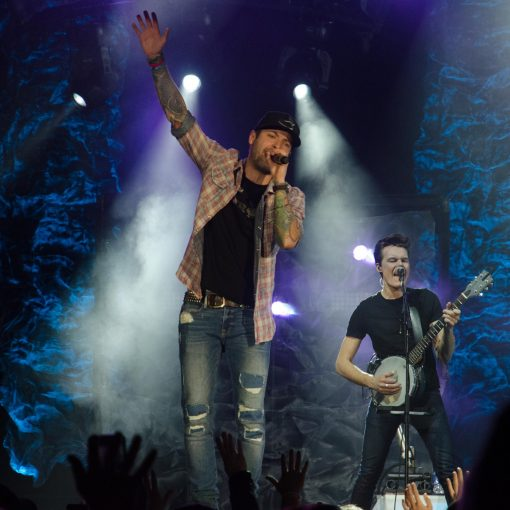 Dallas Smith brought his side effects tour to CN Centre last night, wowing the local crowd. Side Effects Tour. Jim VanderPloeg photo jimvdp@live.ca