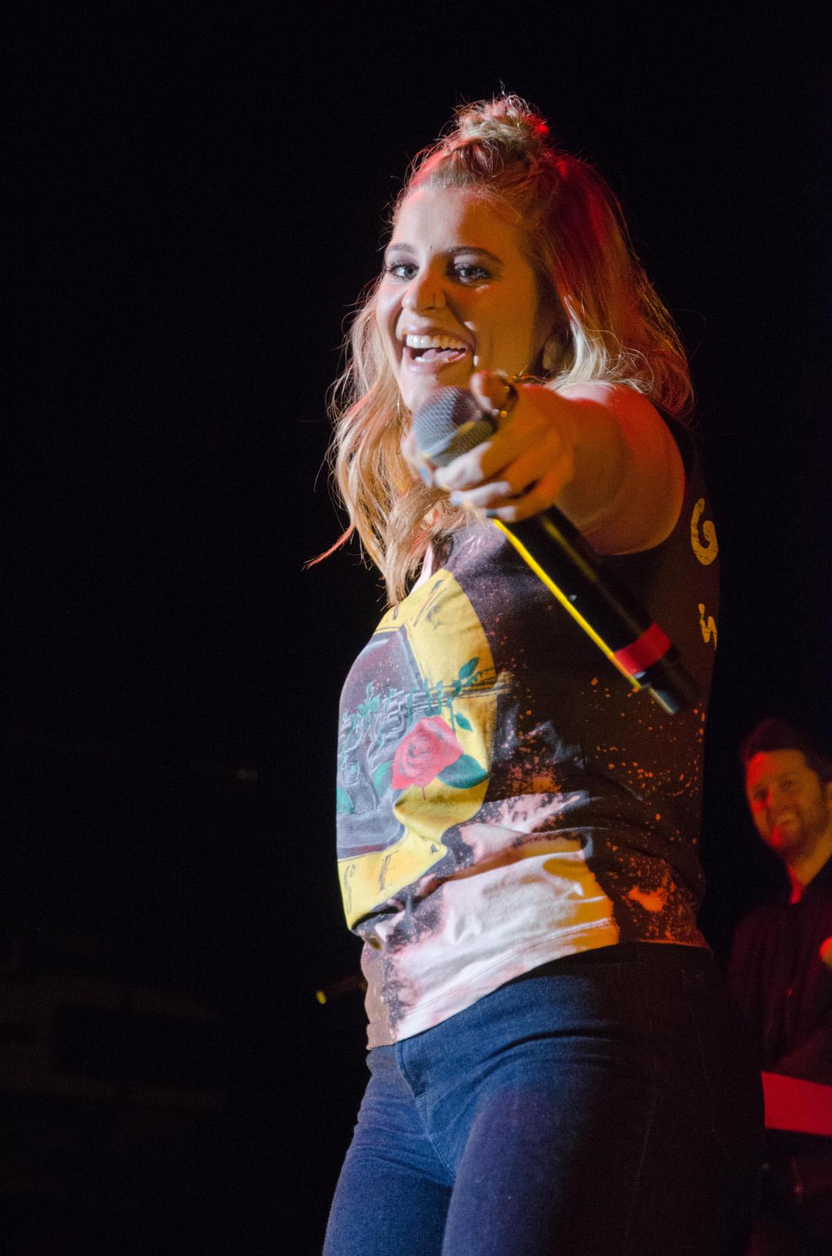 Lauren Alaina opened for Dallas Smith at CN Centre Wednesday night. Jim VanderPloeg photo jimvdp@live.ca