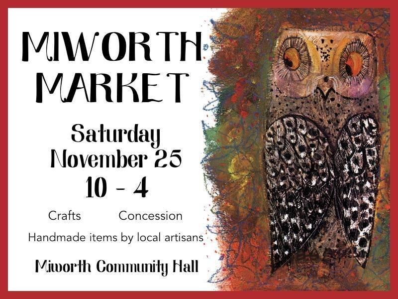 Miworth Craft Fair November 25