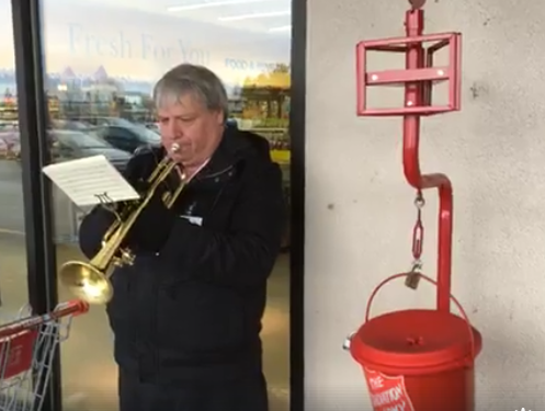 Salvation Army Christmas Kettle campaign underway