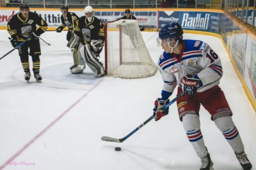 Lee's magic touch gives Spruce Kings a win