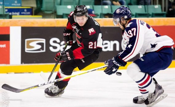 Jared Bethine. Photo courtesy of the Prince George Cougars