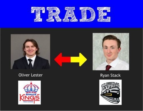 Spruce Kings make pair of deals at trade deadline