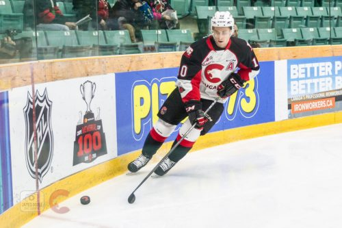 Hurricanes skate to 6-2 win over Cougars