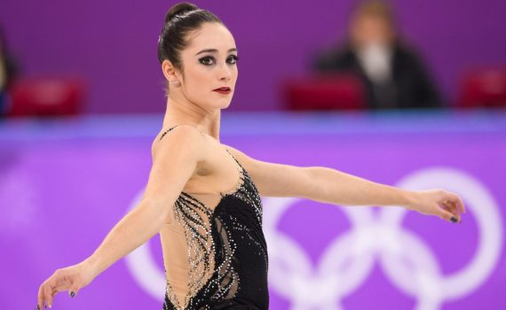 Kaetlyn Osmond competes in the Ladies Single Free Skating at the 2018 Winter Olympic Games at Gangneung Ice Arena on February 23, 2018 in Pyeongchang-gun, South Korea (Photo by Vincent Ethier/COC)
