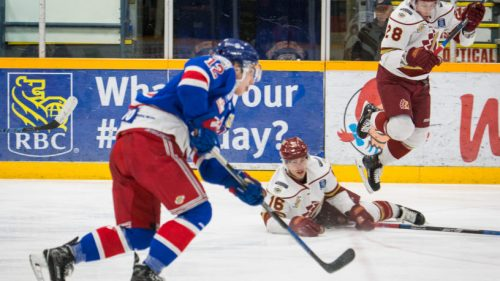 Spruce Kings beat the Chiefs, will meet them in first round