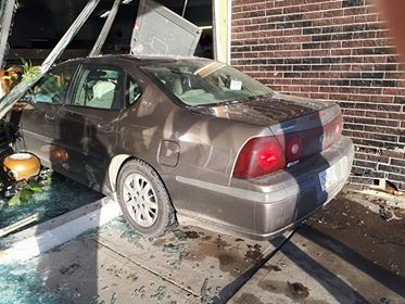 Car crashes into Hospice Resale Store