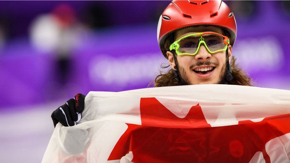 Samuel Girard has captured his first career Olympic medal, taking gold in short track speed skating's 1000m. Canada Olympic Committee