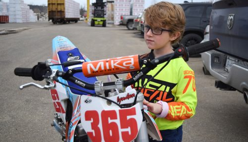 Motocross racer set to defend North Series title