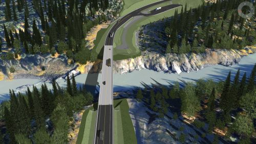 New bridge for Nass River crossing on Highway 37