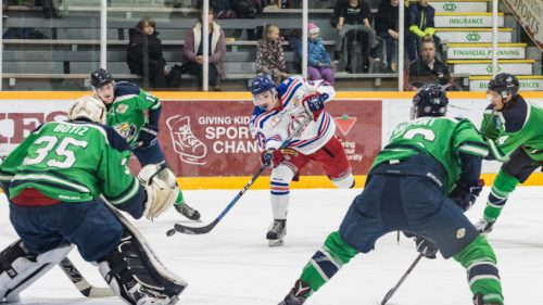 Penalties costly for Spruce Kings as Eagles take 2-1 series lead