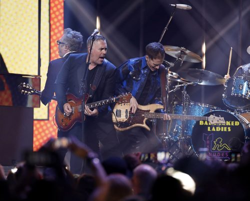 "2018 JUNO Awards. Barenaked Ladies perform ""One Week"", ""If I had a million dollars"" joined by other artists including Jim Cuddy, Jann Arden. March 25, 2018. Rogers Arena, Vancouver, BC. CARAS/iPhoto"