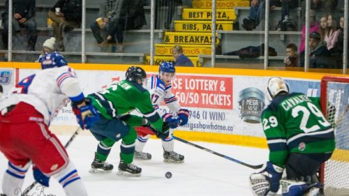Spruce Kings stoned by Cavaliere in Game 2 loss