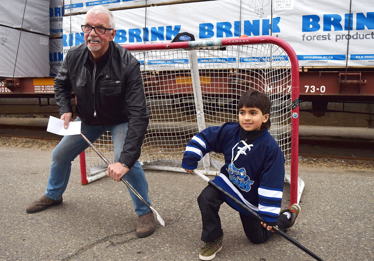 Fundraiser recognized for his hockey skills too – Prince