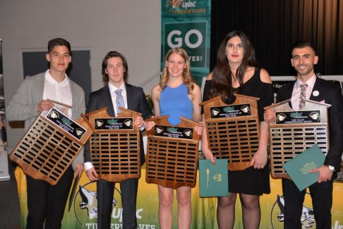 UNBC hands out athletic awards