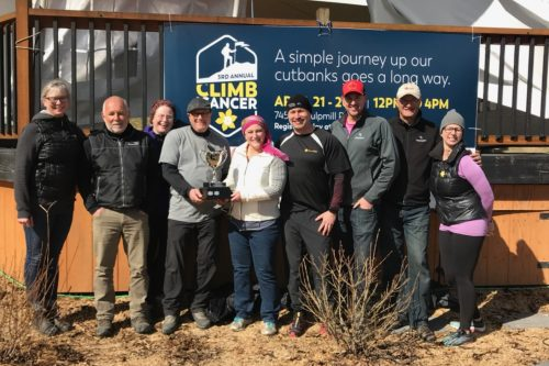 Climb for Cancer raises $50,000 for Kordyban Lodge