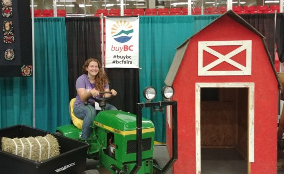 Come and visit the Buy BC Display Booth at the BCNE. You can chat with local farmers and 4-H about what it means to buy local and sell local. #BCNE2019 #BuyBC. BCNE photo
