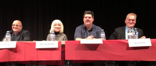 School board candidates grilled at forum