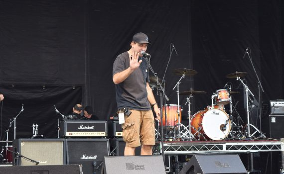 Mic checks are underway at Cariboo Rocks the North, which gets underway tonight at Exhibition Park in Prince George. Three days of classic Classic Rock kicks off with Prism at 7 p.m., The Headpins at 8:15, and Honeymoon Suite at 9:30 p.m. The festivities continue Saturday and Sunday. Don't miss it. Bill Phillips photo