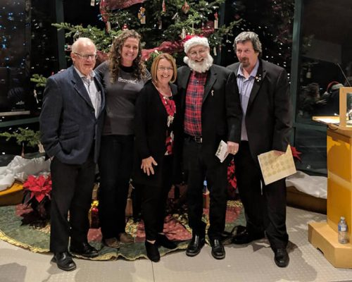 A Christmas Carol reading held at The Exploration Place