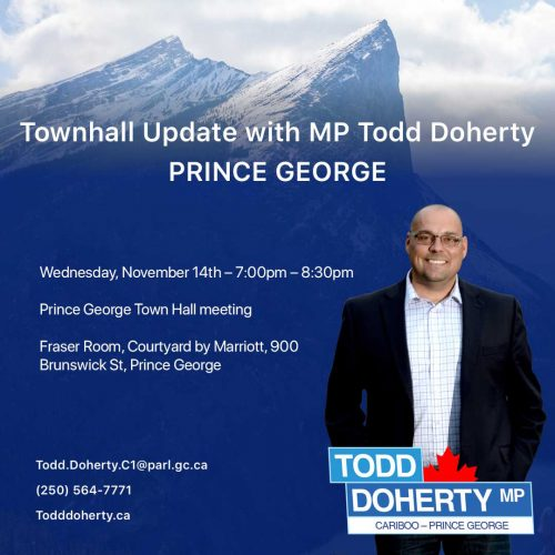 Doherty to hold town hall meeting November 14