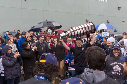 Fred Page Cup champions welcomed back to the city