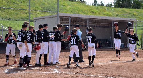 Knight capture provincial baseball title