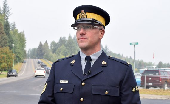Sgt. Matt LaBelle of the Prince George RCMP's municipal traffic services section. Bill Phillips photo