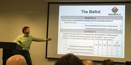 Fair Vote PG holds referendum info session