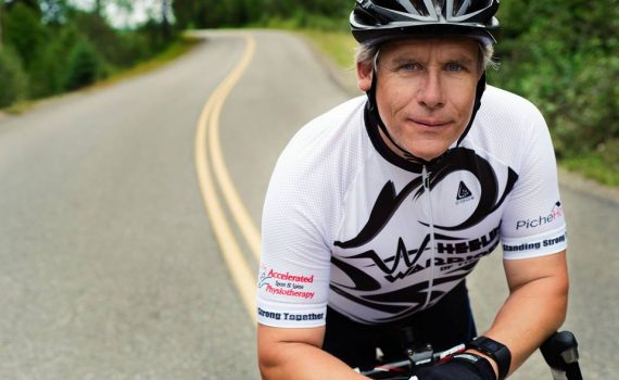Wheelin' Warriors of the North rider Ron Gallo is holding the Conquer Cancer 50/50 draw to raise funds for the B.C. Cancer Foundation. The draw is Thursday evening and there is still time to get a ticket.