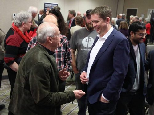 Andrew Scheer attends fundraiser in Prince George