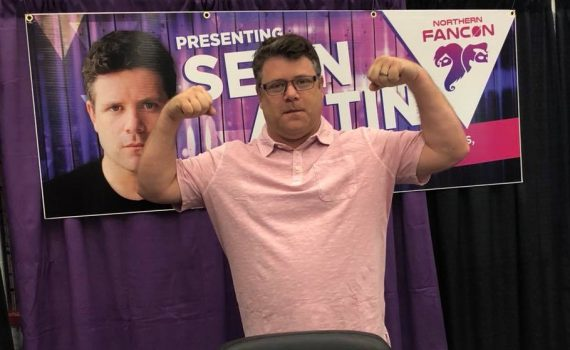 Sean Astin poses during Northern Fancon in Prince George on the weekend. Facebook photo